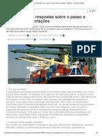 30 Perguntas e Respostas Sobre o Passo a Passo Das Exportações - Notícias - Portal Da Indústria