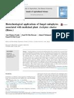 Biotechnological Applications of Fungal Endophytes