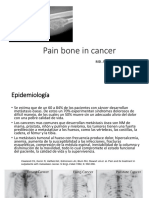 Pain Bone in Cancer