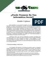 Cafassi, Emilio - Puede Pensarse En Una Informatica Social.doc