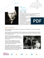 Marie Curie Biography for Kids