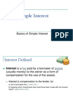 01 Simple Interest Section 1