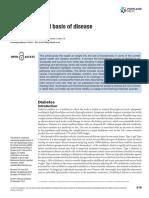 Biochemical Basis of Diseases