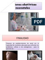 funciones obstetricas neonatales