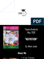 3 Yojana May 2018 Analysis - Nutrition