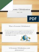 Economic Globalization TCW1