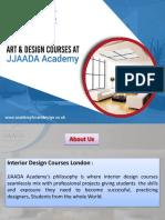 Interior Design School London | academyforartdesign.co.uk
