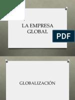 La empresa global