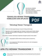 Ppt Hewan Transgenik 5