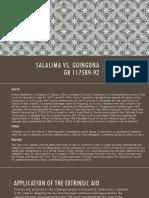 Salalima vs Guingona