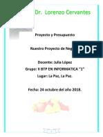 PROYECTO DE NEGOCIOS SUPER
