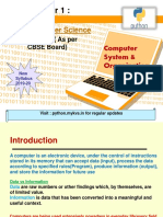 Computer System & Organization