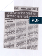 Peoples Journal, Aug. 5, 2019, Veteran solon cited for showing rare delicadeza.pdf