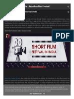Short Film Festival in India