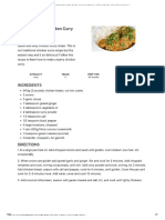 https---www.thecookingfoodie.com-recipe...-and-Easy-Chicken-Curry-Recipe?print=1