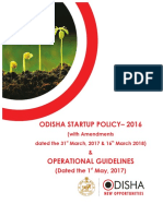o Dish a 2016 Start Up Policy