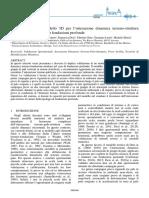 Validazione Di Un Modello 3d Per Interazione Dinamica Terreno Struttura Leoni Anidis2017