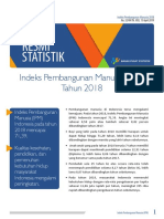 Indeks Pembangunan Manusia 2018