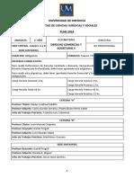 Derecho Comercial y Societario II a-B-SR - PLAN 2019