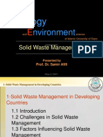 1 Solid Waste Management in Developing Countries