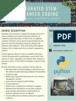 advanced coding syllabus
