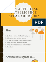 Can AI Steal Your Job?