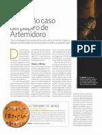 Papiro de Artemidoro (Historia National Geographic)