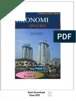 Lembar Kerja Siswa Ekonomi Sma_ma Tim Mgmp Ekonomi Kota Sukabumi. Semester 1. Kelas x - PDF