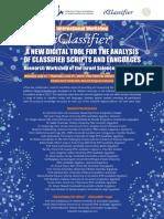 iClassifier Workshop Poster