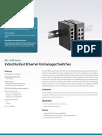 Ethernet Switch DIS 100E Series Datasheet