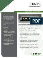 Raptor Protocol Converters Datasheet