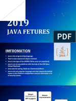 Few features which are known the Java Developerq