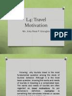 L4 Travel Motivation
