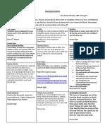 literacy homework matrix term 3 3 and 4 2019