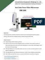 Auto focus video Microscope VM-500