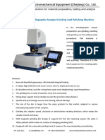 Automatic sample grinder and polisher GP-1AT-300