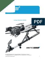 AscTec Falcon 8 Manual De
