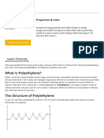What is Polyethylene_Properties & Uses - Video & Lesson Transcript _ Study.com
