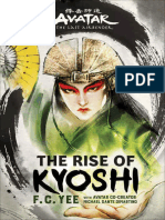 Avatar, The Last Airbender the Rise of Kyoshi