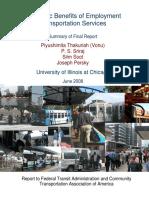 Thakuriah Summary Report 2008