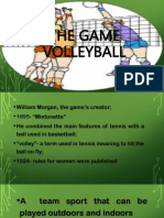 The Game Volleyball