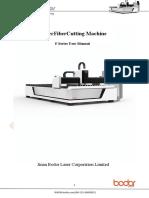 Laser Fiber Cutting Machine-F Series User Manual