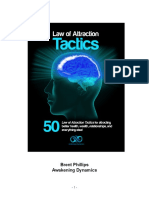 50 Laws of Attraction Tactics