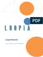 Loopia Network Whitepaper
