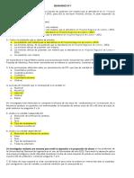 BIOESTADÍSTICA. Solucionario de Seminarios 1, 2 y 3