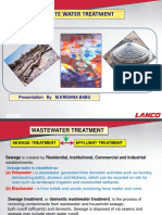 Presentation Waste Water  treatment.pptx