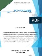 Diapositiva de Mecanico Soldador
