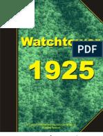 Watchtower 1925