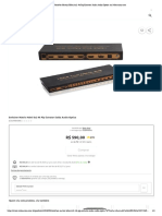 Switcher Matrix Hdmi 6x2 4k Pip Extrator Saida Audio Optica No Submarino.com
