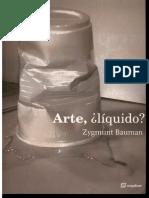Bauman (Ed)-Arte Liquido